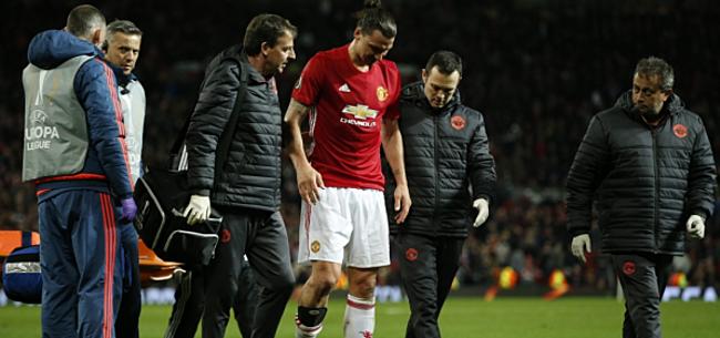 Foto: Mourinho spreekt zich uit over blessure Zlatan