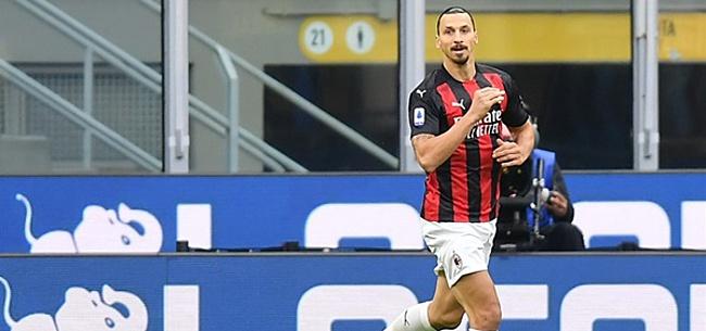 Foto: Ibrahimovic rekent hoogstpersoonlijk af met Internazionale