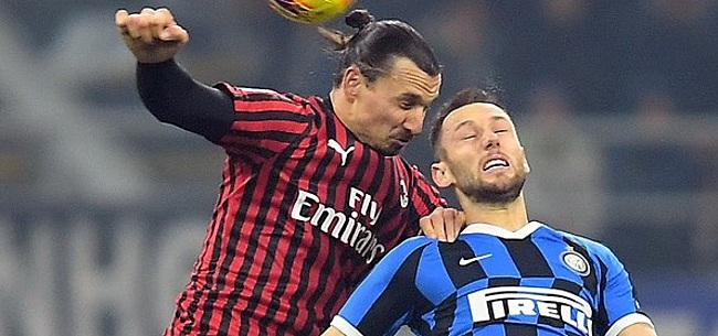 Foto: De Vrij zorgt voor sensationele comeback in Milanese derby