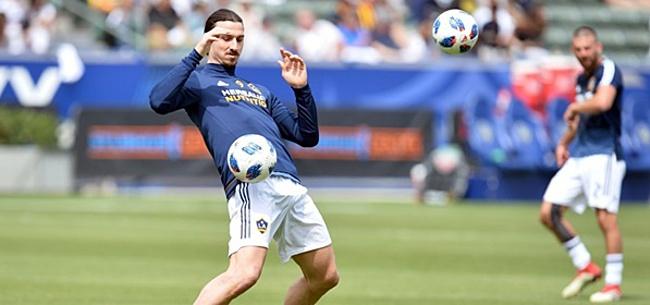 Foto: 'Zlatan kan voetbalwereld verbazen met wintertransfer'