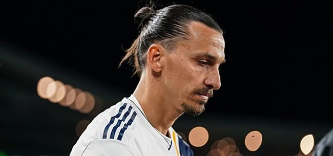 Foto: Zlatan lijkt afscheid te nemen van LA Galaxy met deceptie