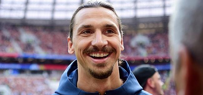 Foto: 'Zlatan Ibrahimovic weet het zeker: dáár wil ik spelen'