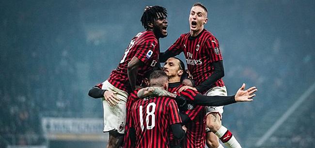 Foto: Morsend Napoli ziet AC Milan in punten gelijk komen