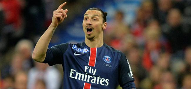 Foto: PSG vernoemt tribune naar Zlatan na dienstverband van slechts vier jaar