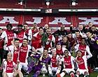 Foto: Ajax-fans gaan massaal los na tweet 'aanwinst'
