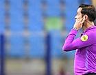 """Foto: Nijhuis laakt geel Messi: """"Spontaan een vlieg in mijn ogen"""""""