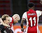 """Foto: Ajax-fans fileren eigen speler ondanks zege: """"Nóóit meer opstellen"""""""