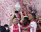 Foto: Dusan Tadic spreekt Ajax-wens uit na finale