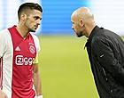 Foto: 'Ten Hag past Ajax-opstelling aan na kritiek clubleiding'