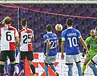 Foto: Arbitrage bezorgt Feyenoord horroravond in De Kuip