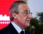 Foto: Florentino Pérez trekt zich niets aan van dreigementen UEFA