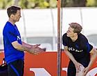 """Foto: De Boer over Eriksen: """"Iedereen was in shock"""""""
