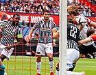 Foto: Feyenoord op voorsprong door curieus doelpunt (🎥)