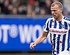 Foto: Heerenveen meldt zich in op drie na krappe zege