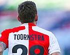 Foto: Jens Toornstra heeft boodschap voor Slot en Feyenoord