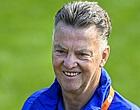 Foto: 'Oranje-international totaal niet blij met Van Gaal'