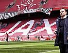 Foto: 'Overmars dreigt met grote klap voor Ajax'