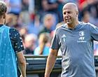 Foto: Feyenoorder barslecht: 'Voor 't eerst voetbalschoenen aan?'