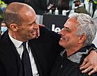 Foto: De Ligt-loos Juventus geeft Roma en Mourinho het nakijken