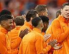 Foto: 'Bizarre actie van Oranje-internationals'