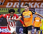 """Foto: Kijkers Volendam-PSV gaan massaal los: """"Schaam je"""""""