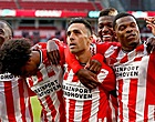 Foto: PSV hoopt en kijkt gespannen naar United