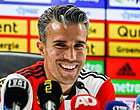Foto: 'Actie Van Persie zeer riskant voor Feyenoord'