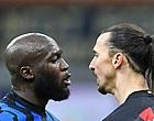 Foto: Ibrahimovic reageert op ruzie met Lukaku: 'In Zlatan's wereld...'