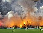 Foto: 'UEFA gaat Ajax aanpakken na gevaarlijke brandsituatie'