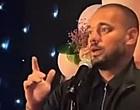 Foto: Sneijder zingt Arabisch op bruiloft zaakwaarnemer Frenkie (🎥)