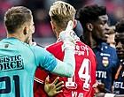 Foto: ME grijpt in na duel tussen Twente en Willem II
