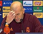 Foto: 'Zidane zorgt voor totale verbijstering in Real-kleedkamer'