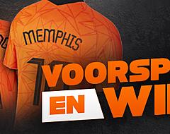 <strong>Voorspel en win een Oranje-shirt van Memphis of Frenkie</strong>