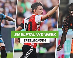 SN Elftal van de Week: De 'best of the rest' na uitgedunde speelronde