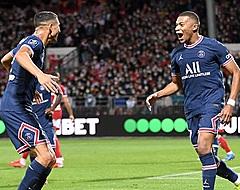 Hakimi voorkomt eerste puntenverlies Messi-loos PSG