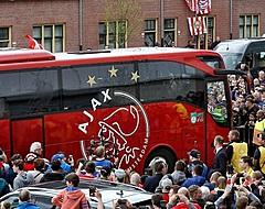 Atalanta-hooligans bekogelen spelersbus Ajax met stenen