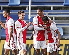 Ajax-bankzitter hard op weg naar uitgang