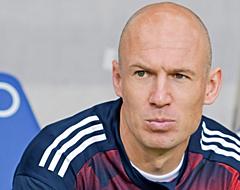 'Robben niet blij met teamgenoot bij Bayern'