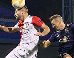 Tien Feyenoorders nemen punt mee uit Zagreb