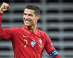 Cristiano Ronaldo mag nieuwe prijs in ontvangst nemen