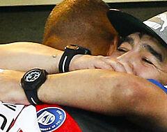 Napels in brand na overlijden Maradona (🎥)