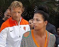 Eerste foto's Dirk Kuyt met zijn nieuwe vriendin  (🎥)