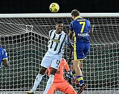 Pijnlijk puntenverlies voor Juventus tegen Verona