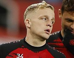 'United zorgt voor grote Van de Beek-schok'