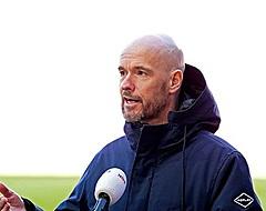 """Ten Hag velt oordeel over gelijkspel tegen PSV: """"Wat is geluk?"""""""