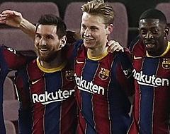 Messi en Frenkie de Jong wervelen na rust bij Barcelona