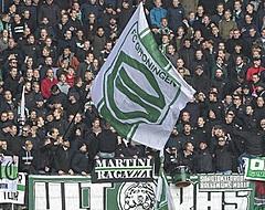 Chaos in de Euroborg: Groningen - Vitesse voorlopig gestaakt (🎥)