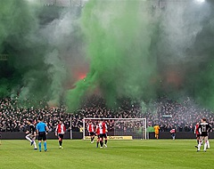 UEFA en Feyenoord botsen over sfeeractie supporters