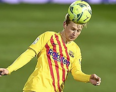 Fenomenale Frenkie helpt Barça aan benauwde zege