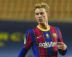 'Barcelona choqueert en verkoopt Frenkie de Jong'